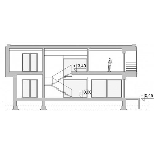Проект дома LK&1515