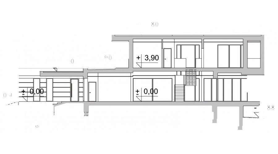 Projekt domu LK&1543