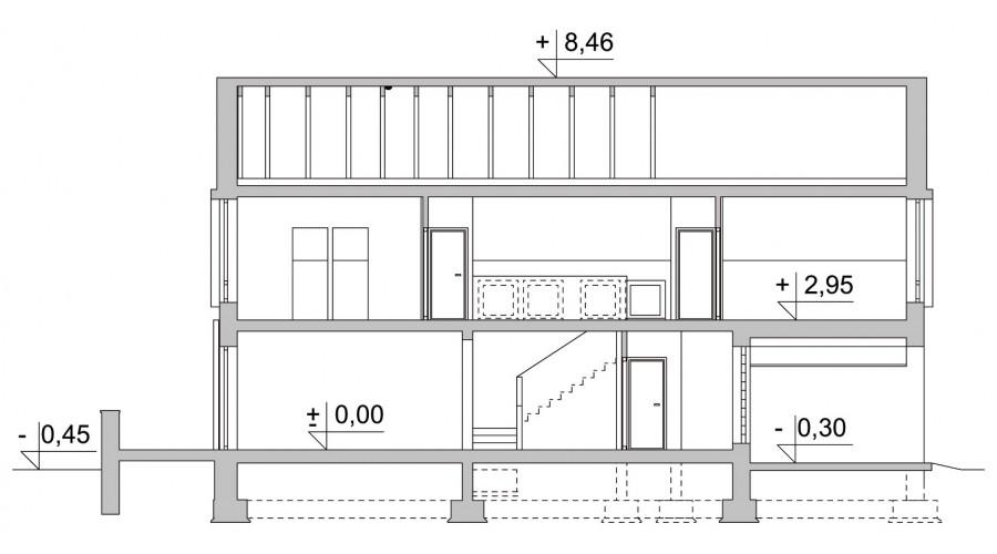 Projekt domu LK&467