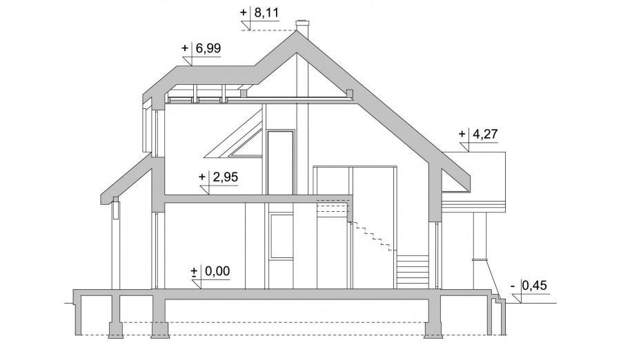 Projekt domu LK&47