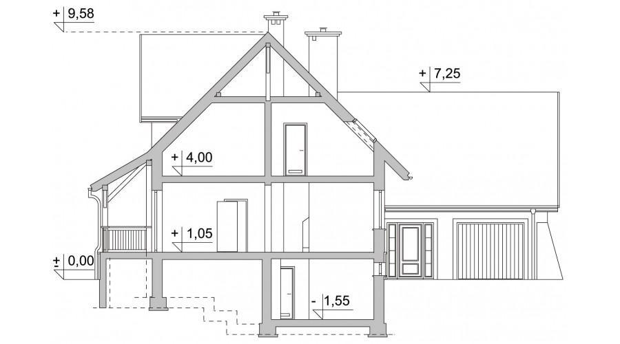 Projekt domu LK&599