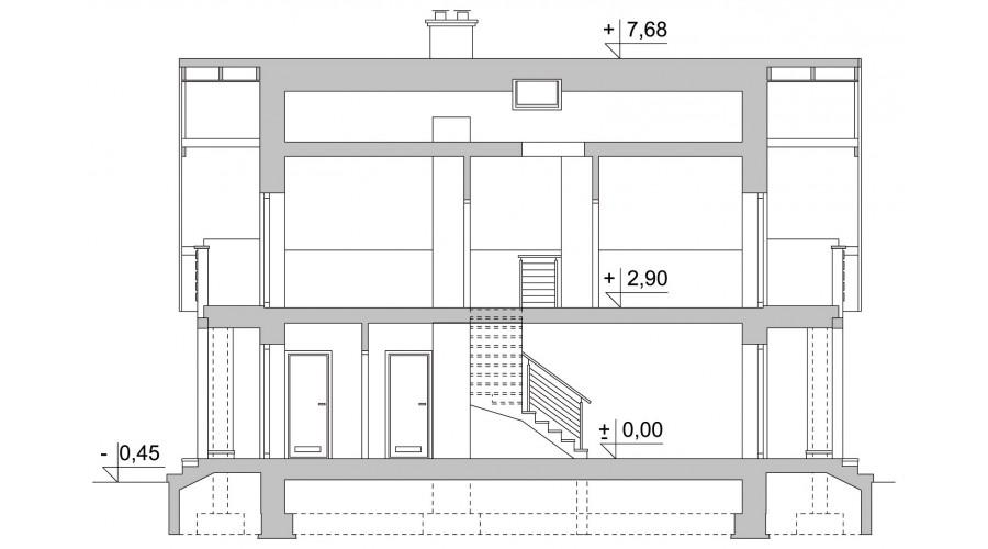 Projekt domu LK&823