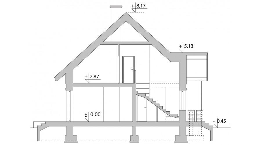 Projekt domu LK&881