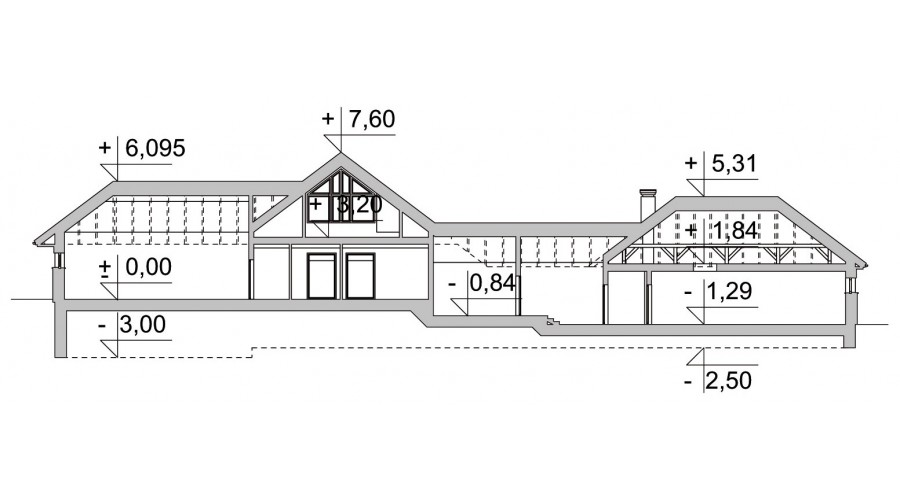 Projekt domu LK&992
