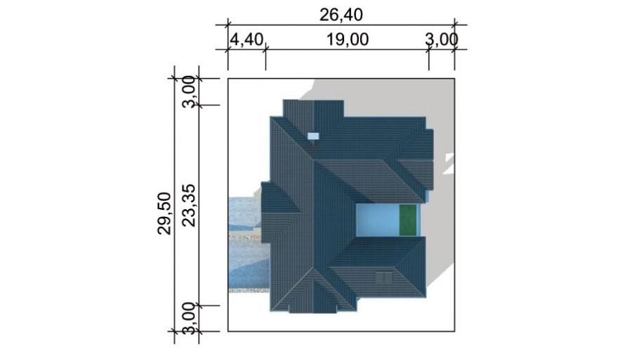 Projekt domu LK&1116
