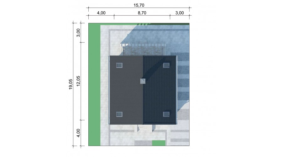 Projekt domu LK&1153
