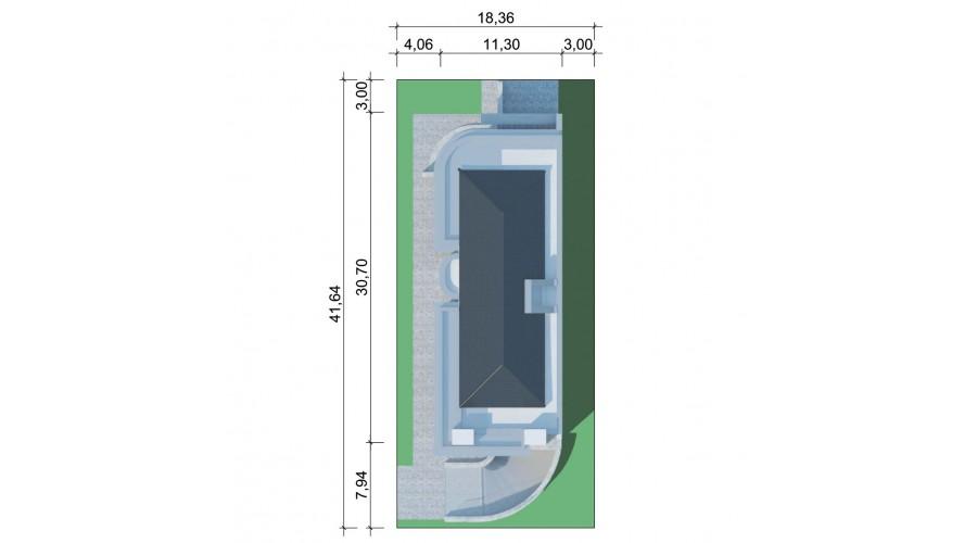 Projekt domu LK&1200