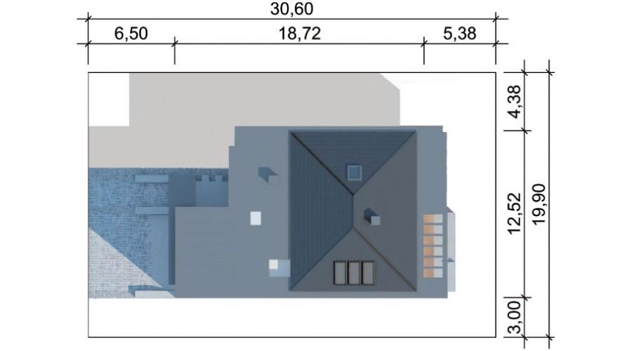 Projekt domu LK&1206
