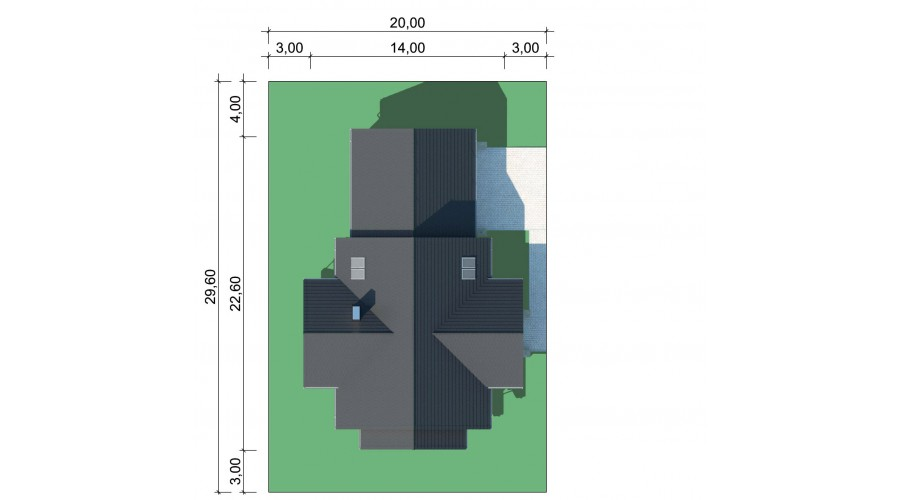 Projekt domu LK&1388