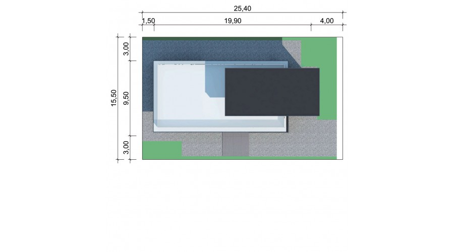 Projekt basenu LK&1514