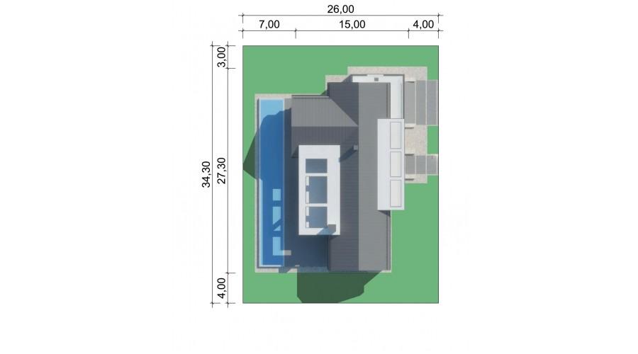 Projekt domu LK&1568