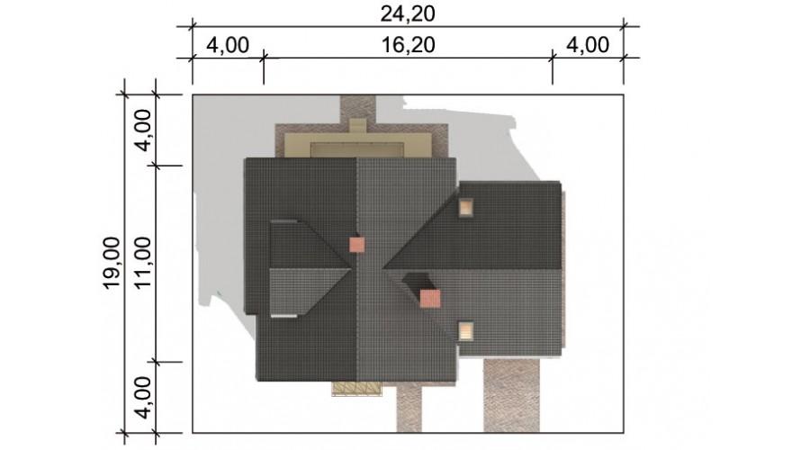 Projekt domu LK&290