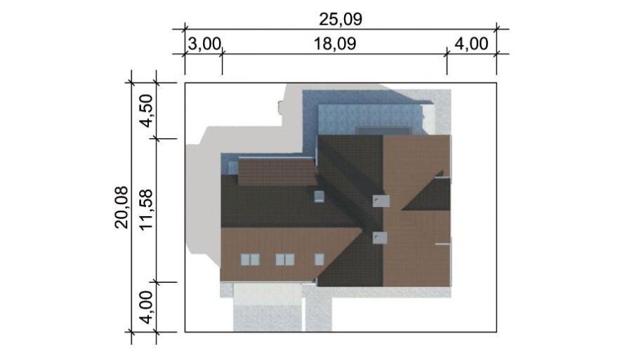 Projekt domu LK&306
