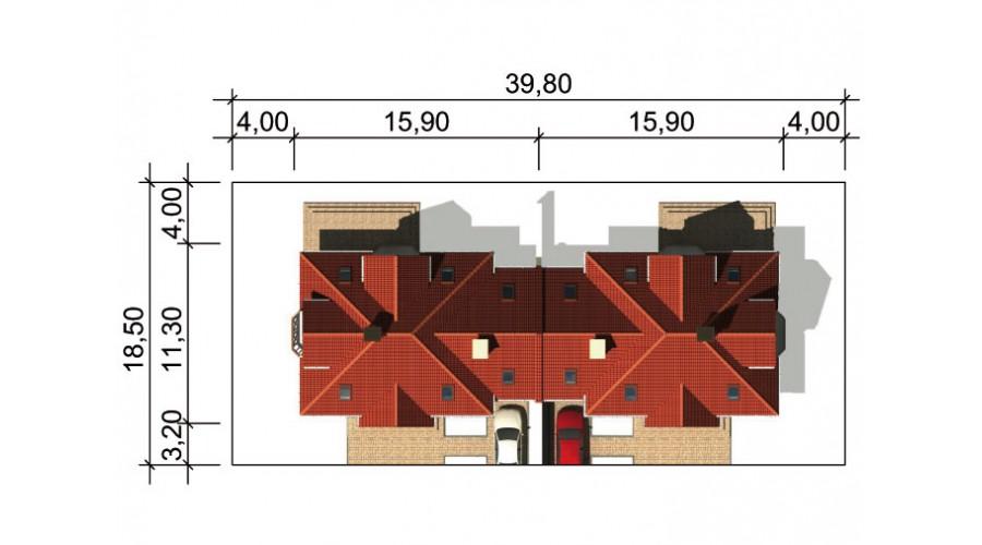 Projekt domu LK&543