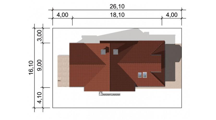 Projekt domu LK&559