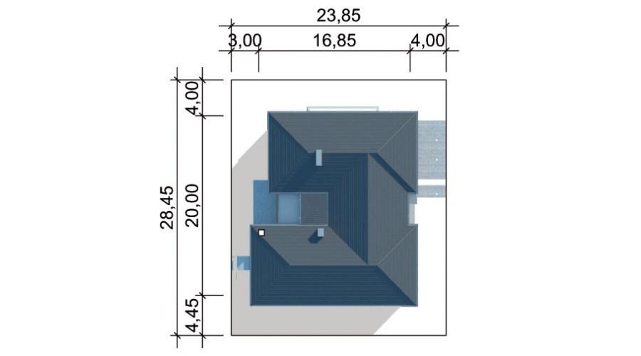 Projekt domu LK&574