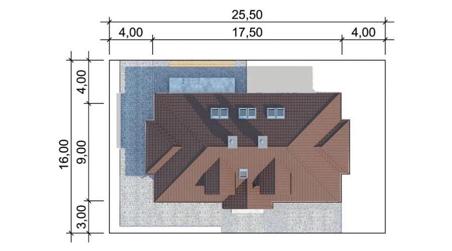 Projekt domu LK&605