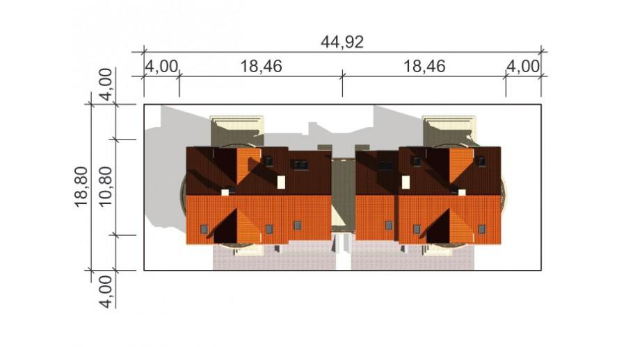 Projekt domu LK&611