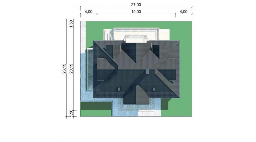 Projekt domu LK&681