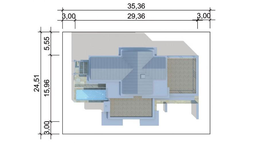 Projekt domu LK&845