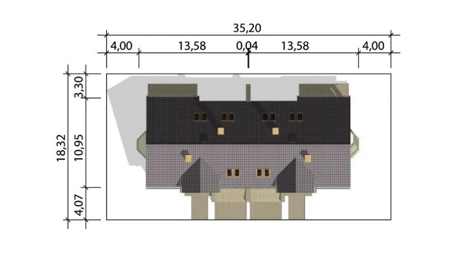 Projekt domu LK&88