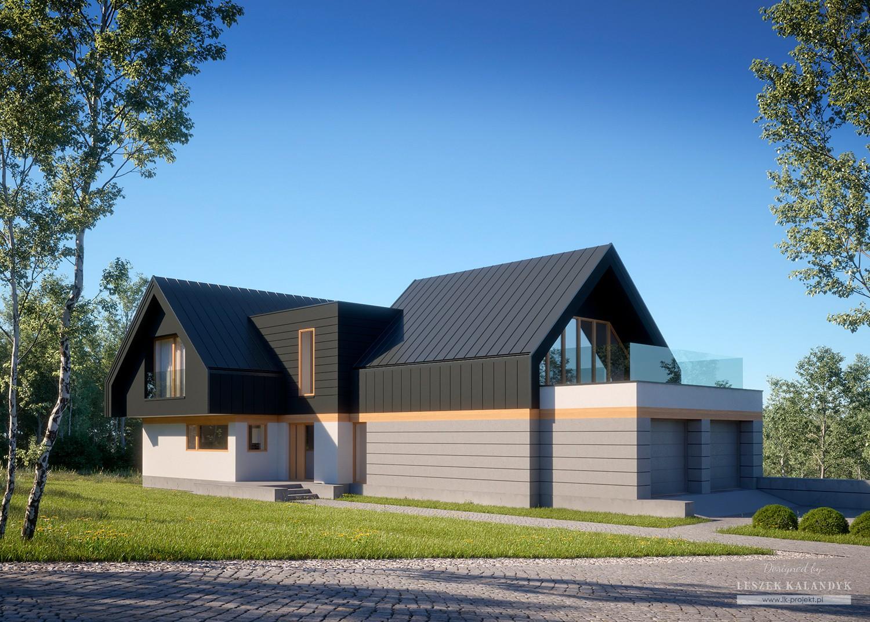 Projekt domu LK&1551