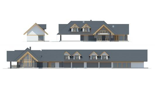 Projekt domu LK&1555