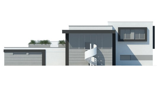 Projekt modernizacji elewacji LK&1558