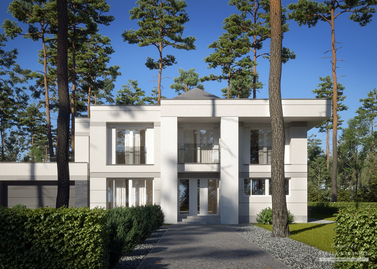 Projekt domu LK&1569