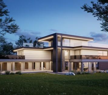 Projekt domu LK&1571