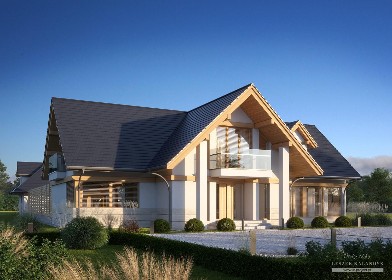 Projekt domu LK&1574