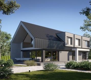 Projekt domu LK&1575