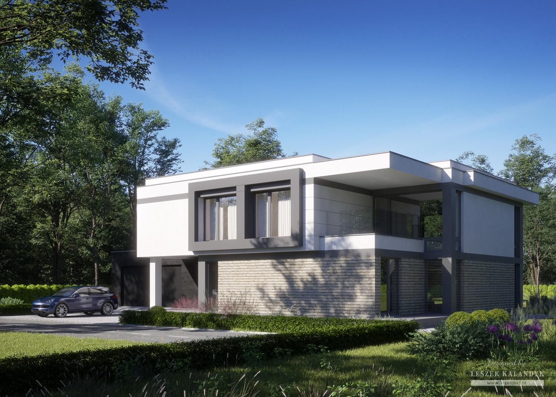Projekt domu LK&1576