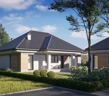 Projekt domu LK&1586
