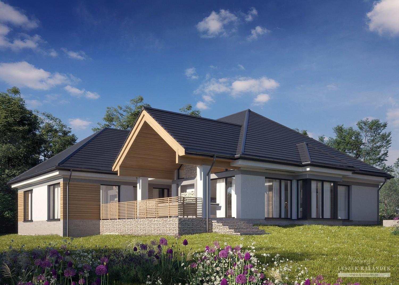 Projekt domu LK&1587