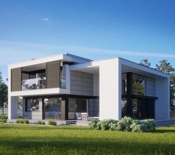 Projekt domu LK&1589 do Niemiec