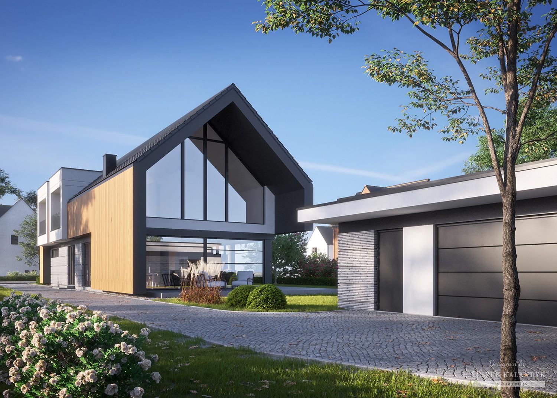 Projekt domu LK&1592