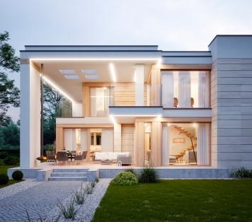 Projekt domu LK&1593