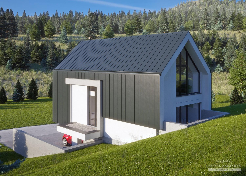 Projekt domu LK&1595