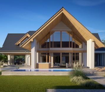 Projekt domu LK&1596