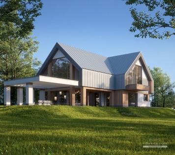 Projekt domu LK&1604