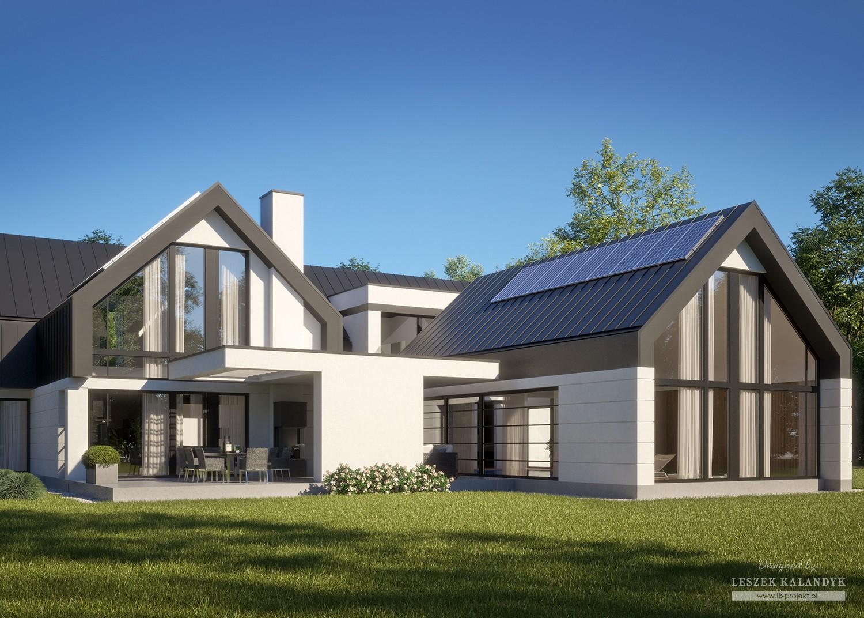 Projekt domu LK&1607