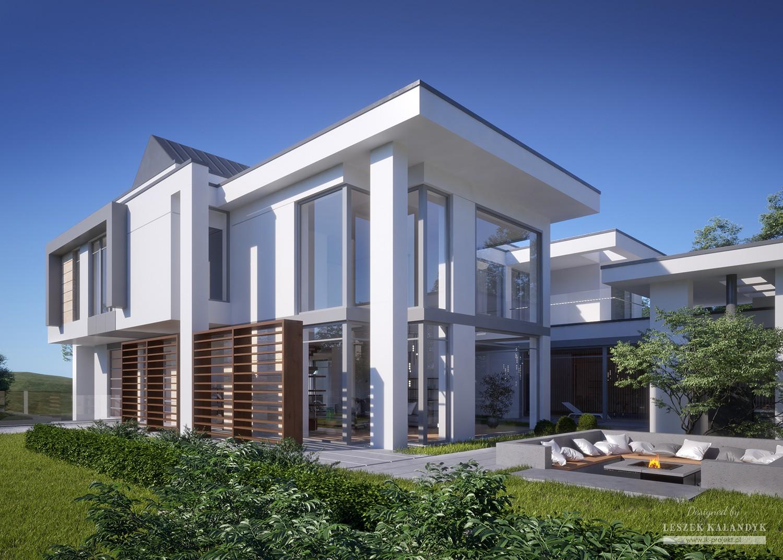 Projekt domu LK&1609