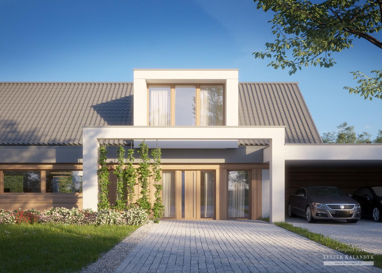 Projekt domu LK&1610