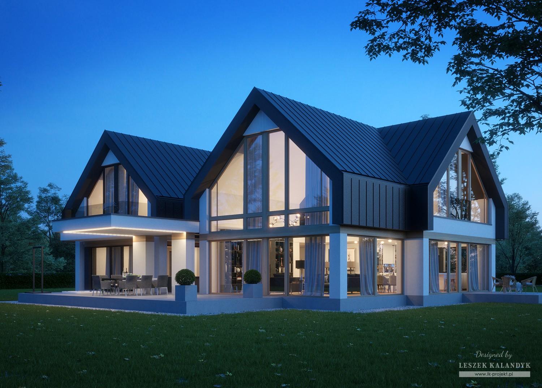 Projekt domu LK&1614