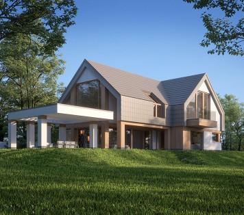 Projekt domu LK&1616