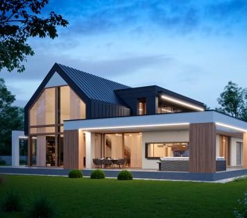 Projekt domu LK&1622
