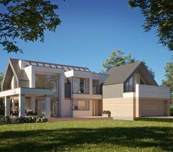 Projekt domu LK&1623