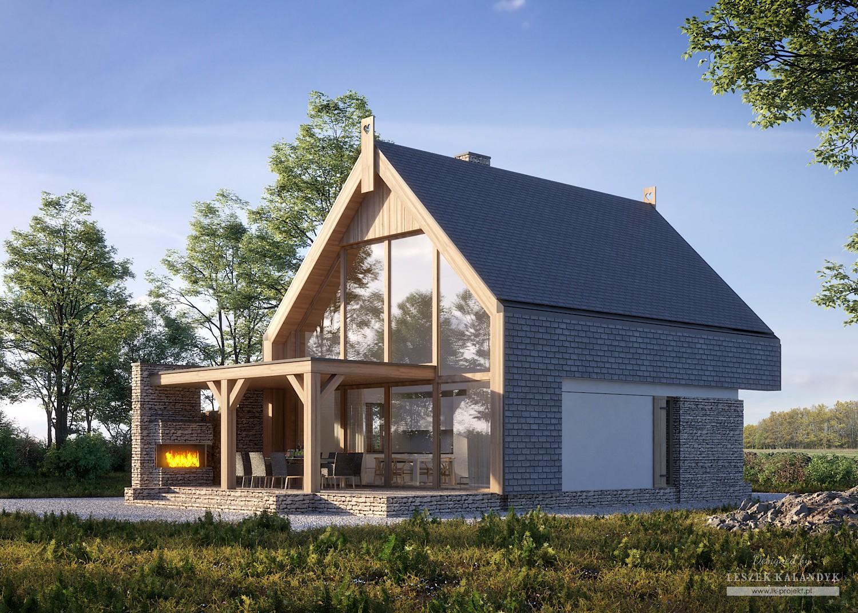 Projekt kompleksu mieszkalno-rekreacyjnego LK&1627