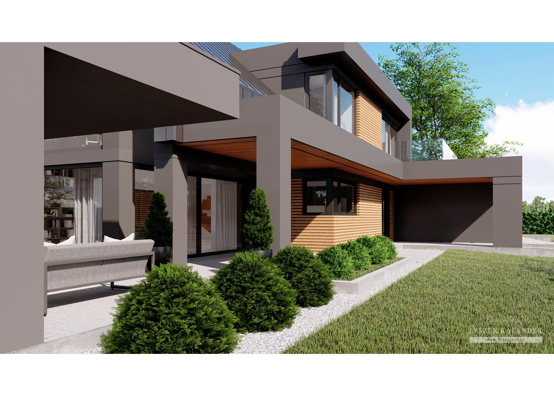 Projekt domu LK&1631